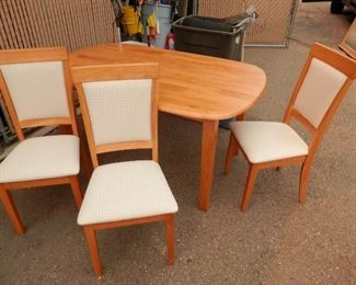 ***$289*** 6 chairs and the table set
