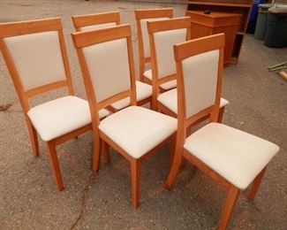 Discounted price ****$289**** the 7 piece set.....6 chairs from the table and chairs set