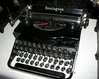 Item 2: Vintage Remington Manual Typewriter with Case - Model 1 Asking Price: $149.00