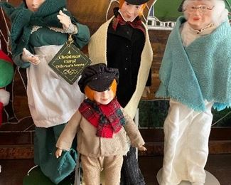 A Christmas Carol collection of Dickens' characters by Beyer