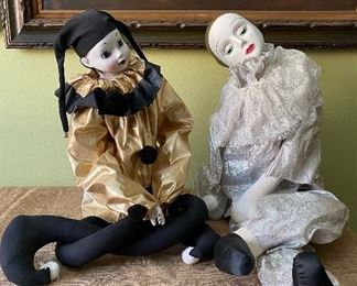 Large clown dolls