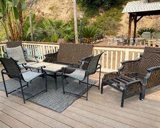 Brown Jordan and Hampton Bay outdoor patio furniture
