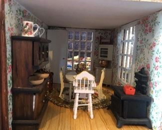Doll house dining room