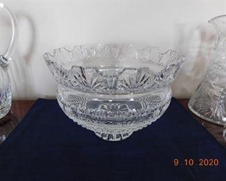 Large Waterford Kings bowl.