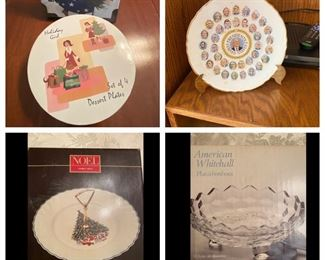 Decorative and serving plates