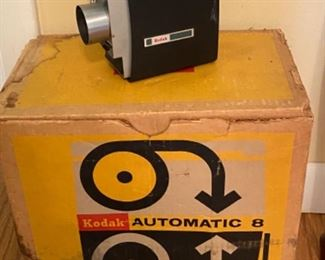 Kodak AUTOMATIC 8 camera with original box