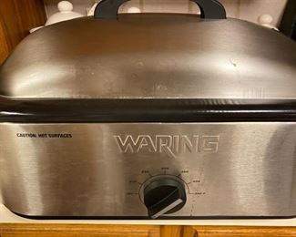 Waring electric roasting pan