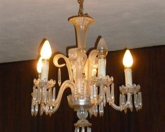 Another vintage crystal chandelier