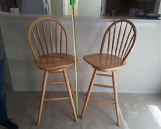 "$50~ ( TWO AVAILABLE)~ BAR STOOLS ~ 29"" SEAT HEIGHT"