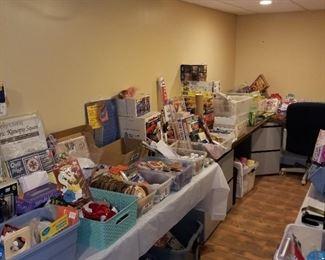 Crafts, scrapbooking, office supplies