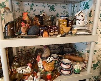 ROOSTERS and CHICKENS! From cute to collectible!