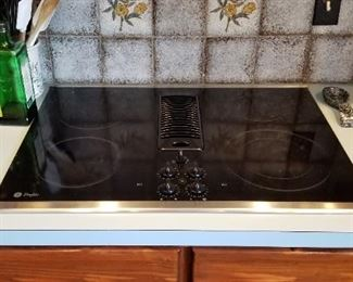 GE Profile glass cook top