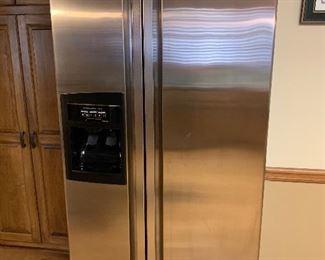 KitchenAid KSRS251KSS81 Refrigerator  08/2001