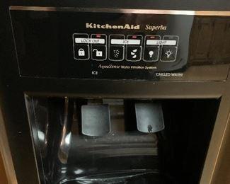 KitchenAid KSRS251KSS81 Refrigerator