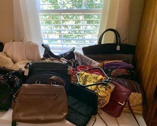 Purses.. Tod, Chanel and many more