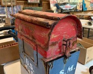 Antique mailbox