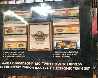 HO Harley Davidson Train set
