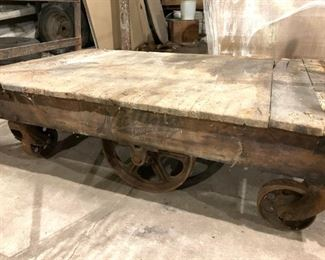 Nutting industrial cart