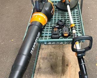 Lawn tool set
