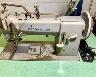 Chandler Industrial sewing machine