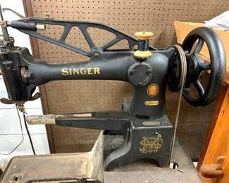 Singer Machine base for Singer leather machine