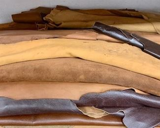 Leather hides... many many more!!!