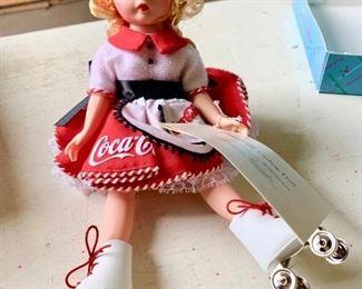 Harley davidson and coca cola dolls