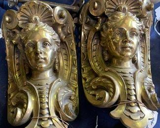 Brass embellishments