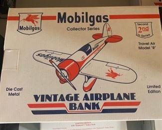 Mobilgas airplane collectibler