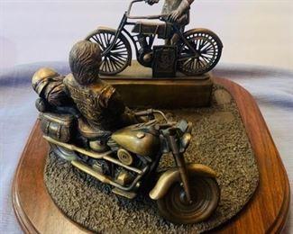 Bronze collectible