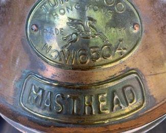 Masthead headlamp for ship