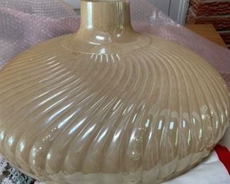 opalescent glass light cover