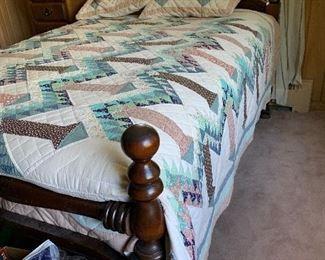 Full size bed for bedroom set