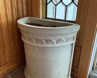 unique pottery planter