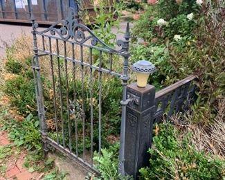 Garden gates and railings