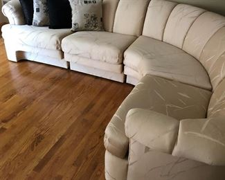Very  maintained wrap-a-round couch! Like New  from Yesterday!