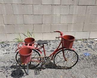 Yard art planter