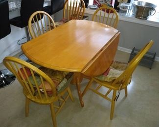 Kitchen table and four chairs