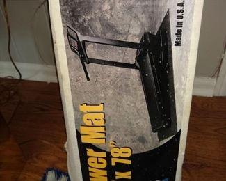 Treadmill mat - new in box