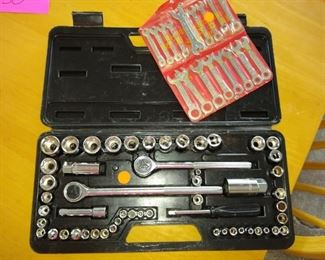 Socket wrench set and more