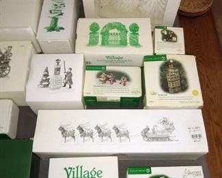 Department 56 Village accessories