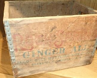 GINGER ALE CRATE