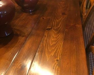 Finish of Ralph Lauren table