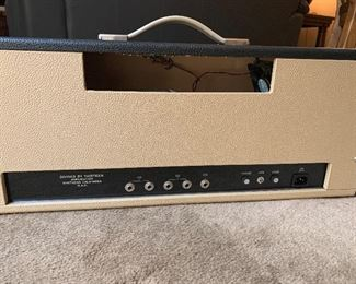 Rear of the amp