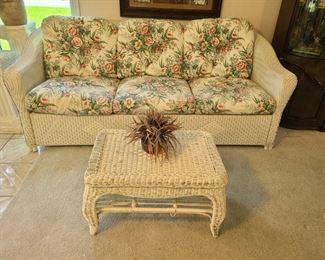 Couch ~ Lloyd Loom Flanders