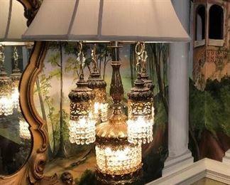 Close up of magical lamp