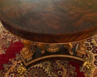 golden paw table