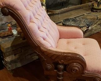 Sleepy Hollow pair of pink chairs