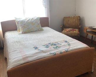 Heywood Wakefield bed.