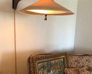 Mid-Century wall mounted light fixture